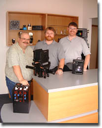A picture from several years ago with the late great Peter Zeitz, Mark and Kevin.